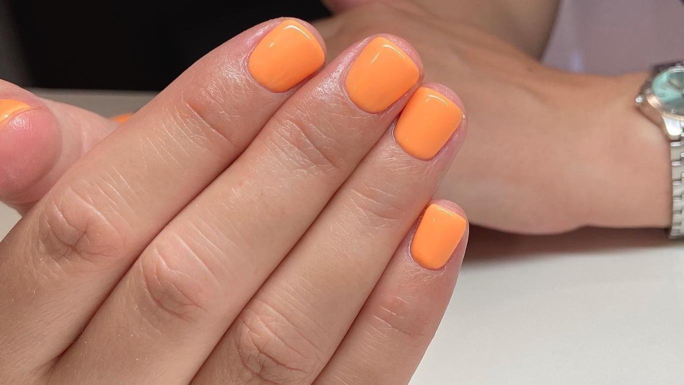 Odważny kolor na lato :) - wyk. Adrianna