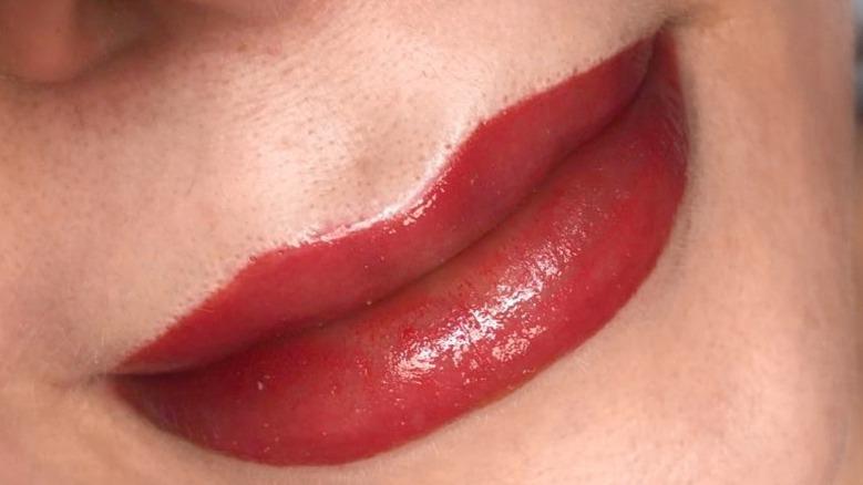 Makijaż permanentny ust - Alina
