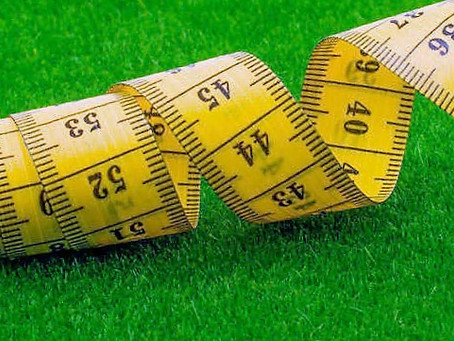 How to measure the lawn