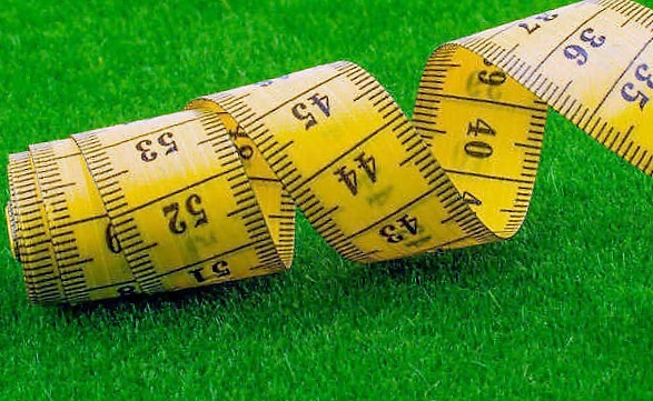 measure the lawn for sodding