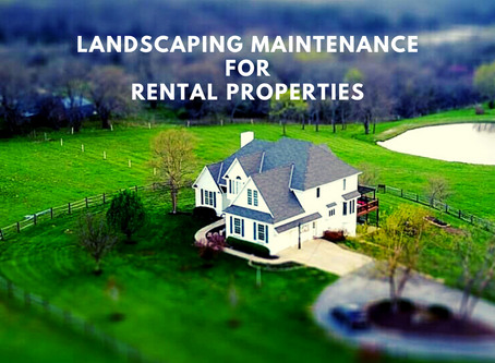 Landscaping Maintenance for Rental Properties
