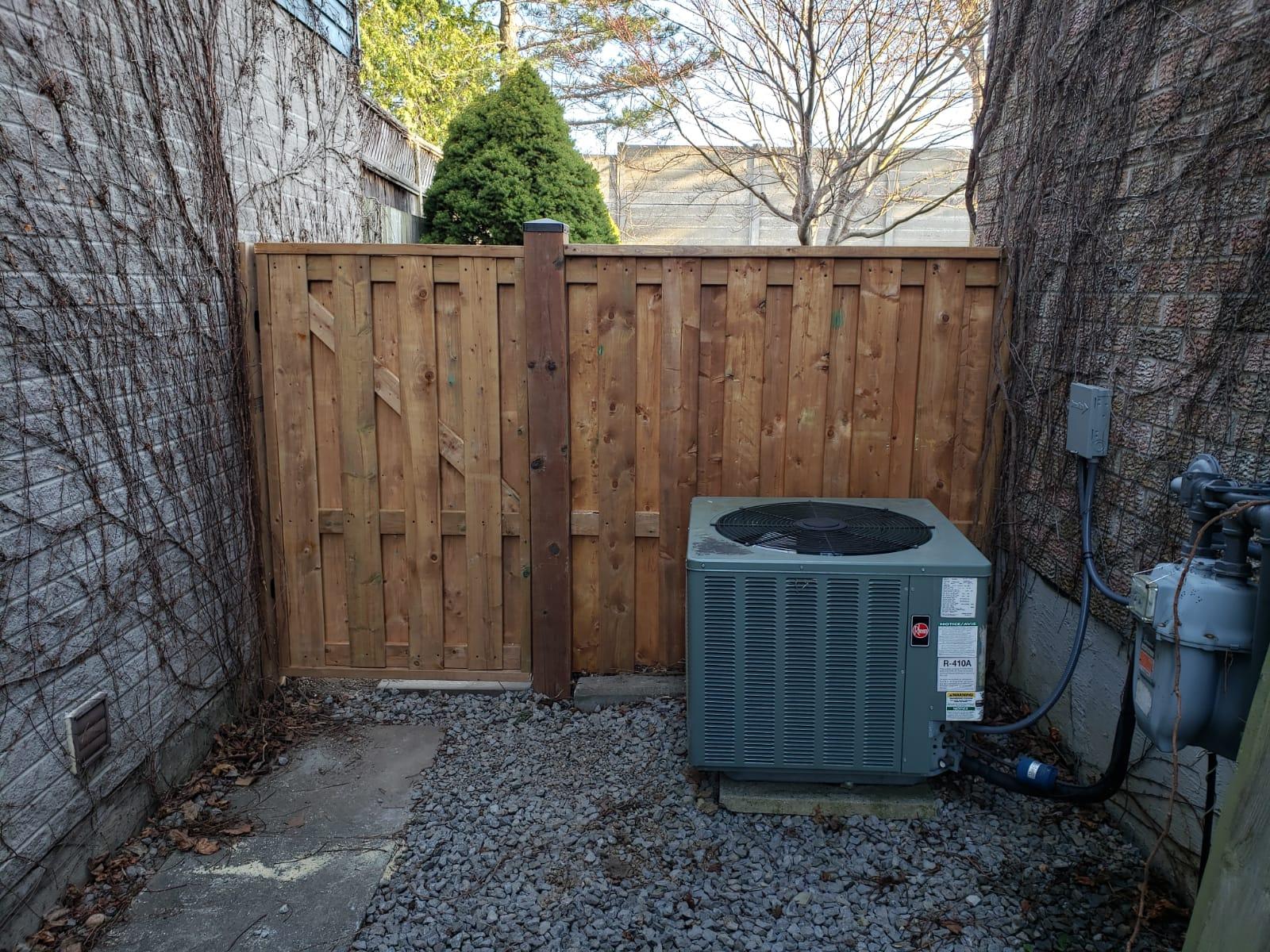 Fence gate 2