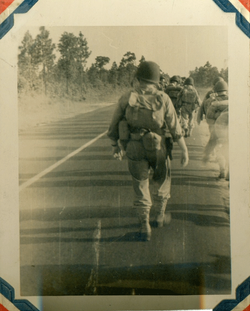 193rd Trooper Marching