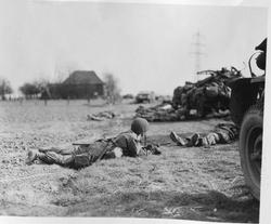 253933 Varsity, troops take cover