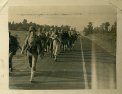 193rd Troopers Marching