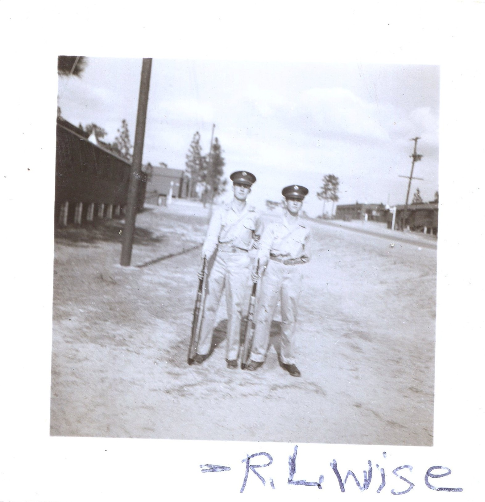 Richard Wise on Right