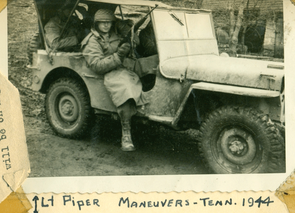 193rd Lt Piper jeep
