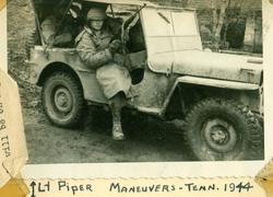 193rd Lt Piper jeep