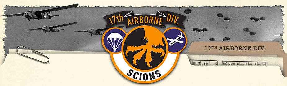 Official website of the veterans and descendants of the 17th Airborne Division.  World War II US Army paratroopers