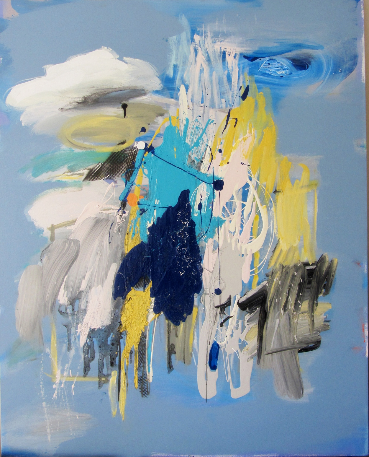 Abstract Merit_Leonie Richardson - Summer rain shower