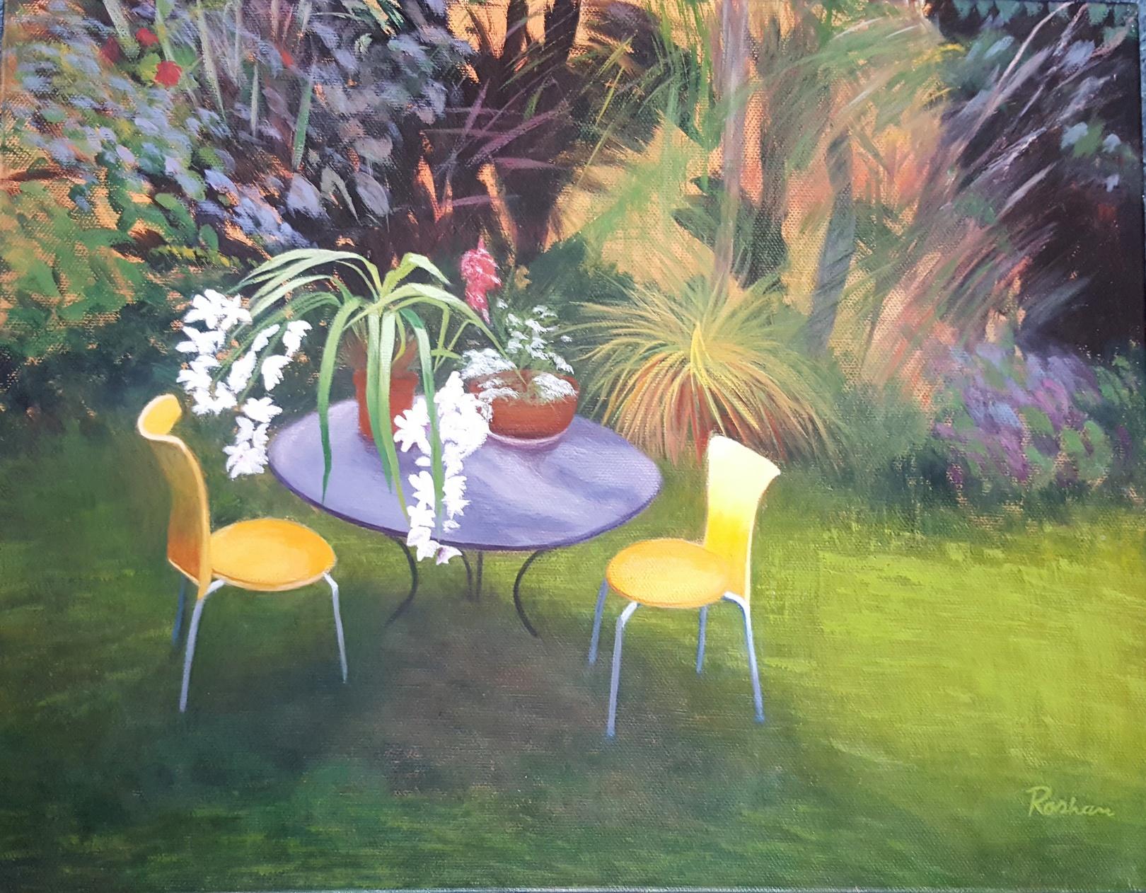 Roshan Masoumi Cosy Garden