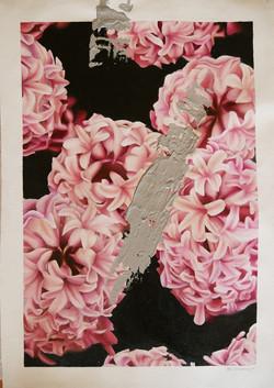 16-18 ART_Rebecca Hazard_Grey smear on Hyacinths