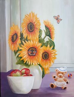 Nel van amsterdam - sunflowers