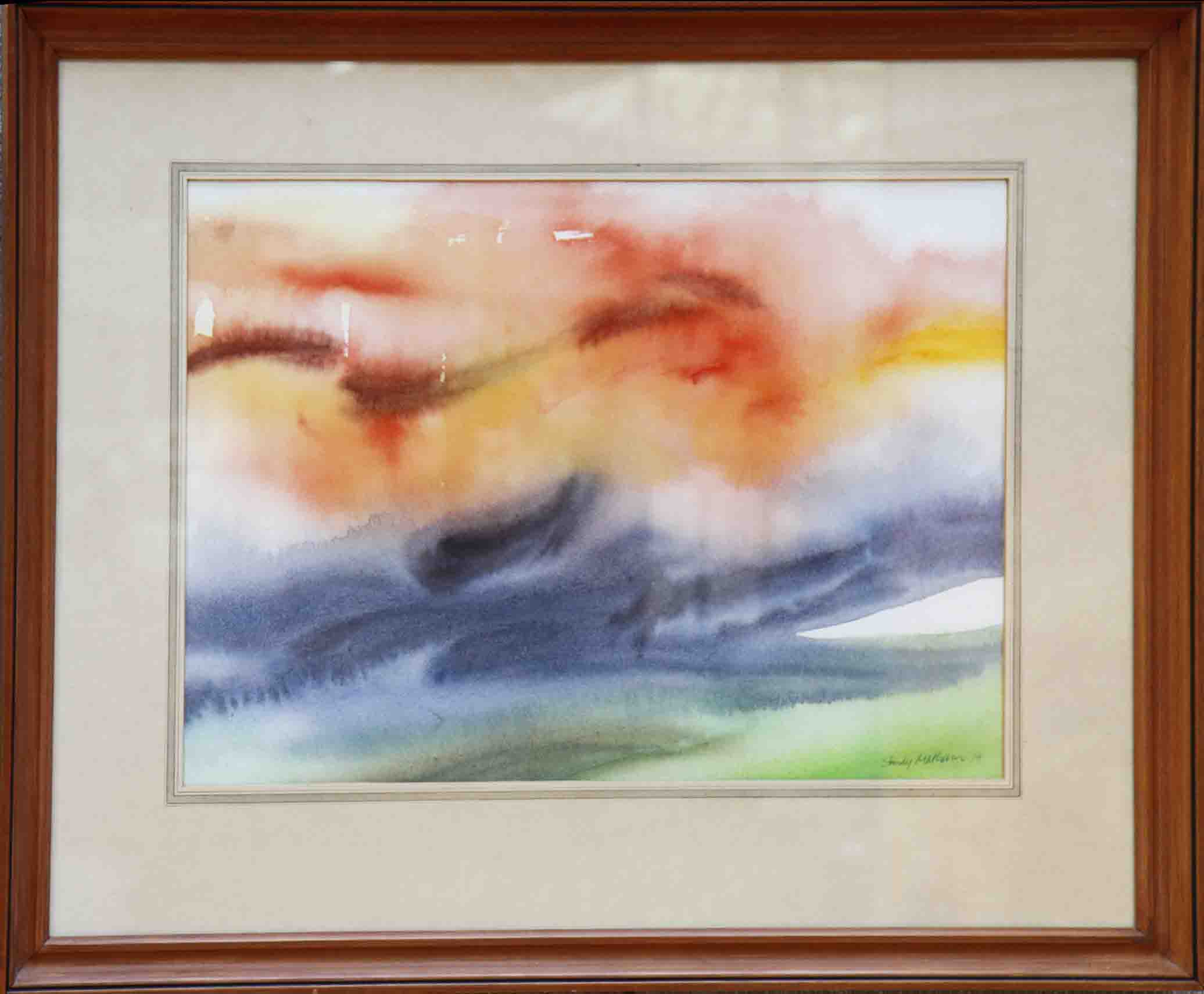 Watercolour-Sandy Matheson-Sunrise.jpg