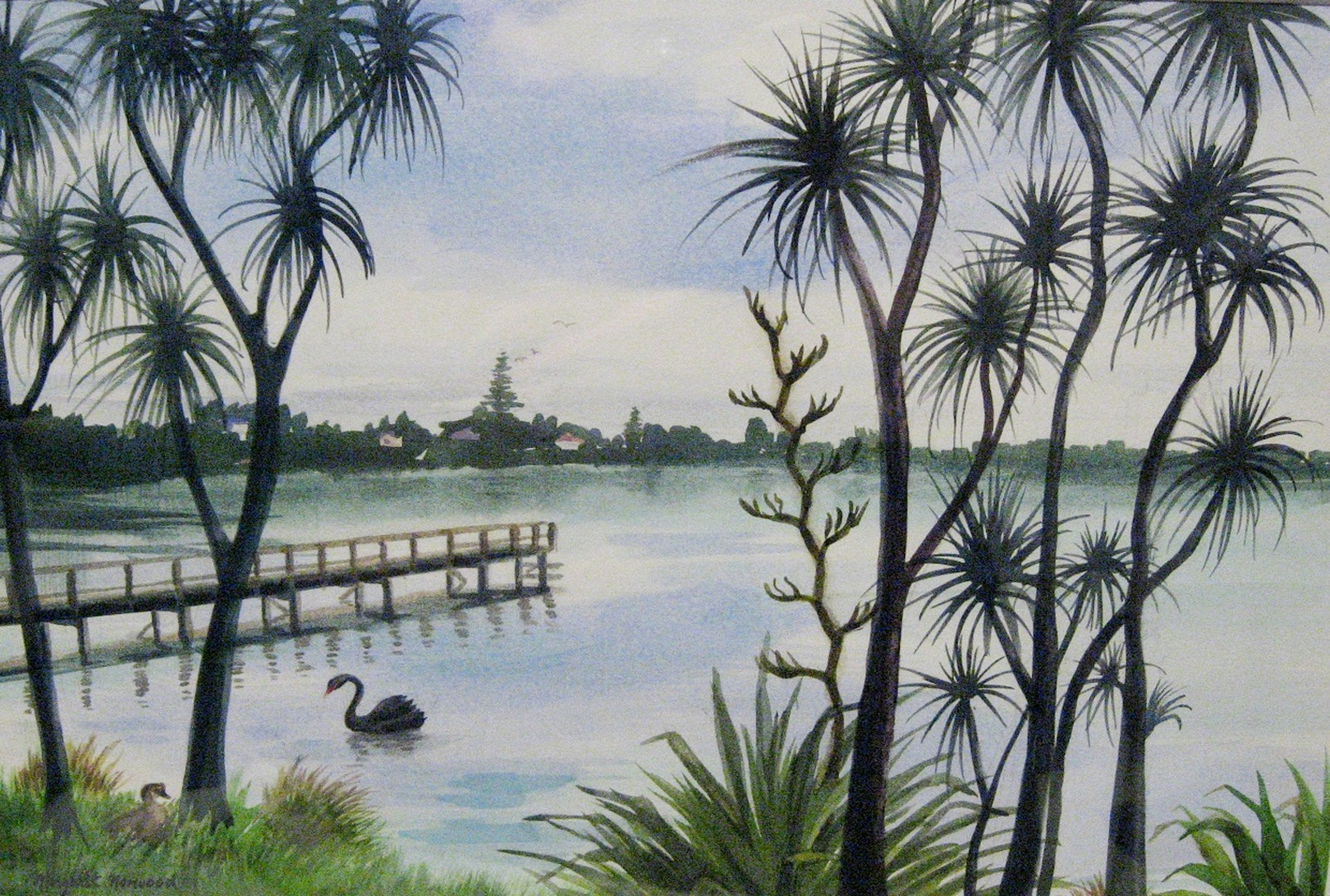 Margaret Norwood_Lake Pupuke