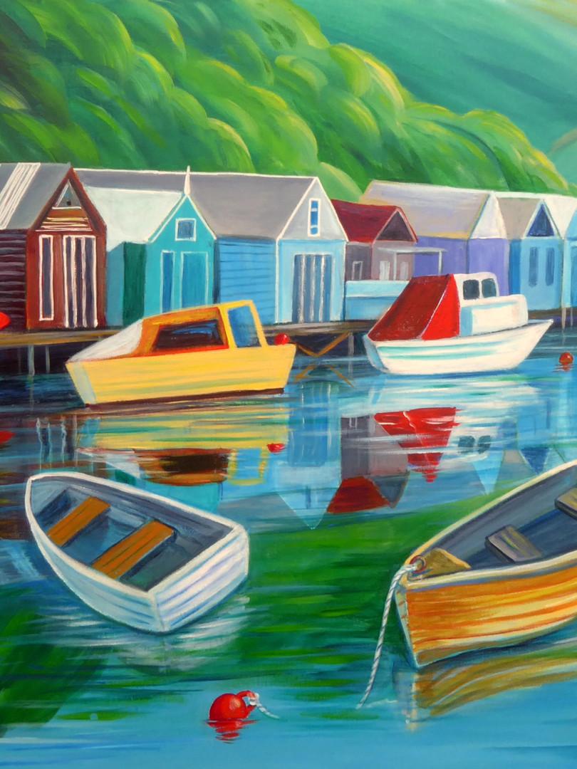 Paremata Boat Sheds