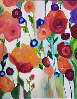 Shahla Tofighi_Flowing flowers