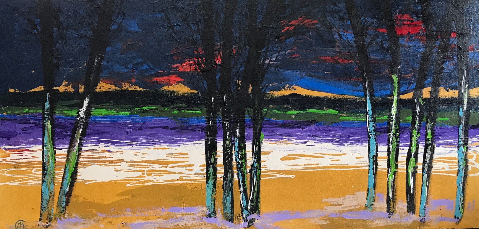 Judith Chisholm Moore Eleven Trees