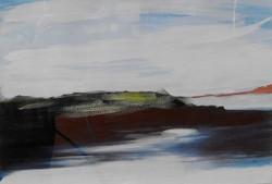 1st TRUSTS_$4000_ART_Joelle Bunt_Headland with Reflection-Wild West Coast Series W