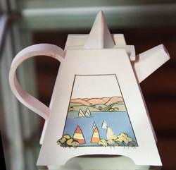 Inlaid Tea Pot