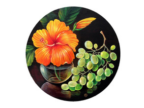 Irina Velman_Still Life Work with Grapes