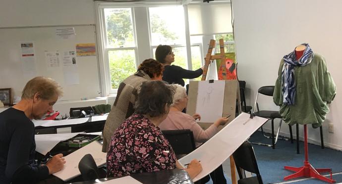 Smita Teaching at Waitakere Studio 2