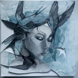 3rd TRUSTS ART_$200_16-18_Saralouise Williams_ Swallows W