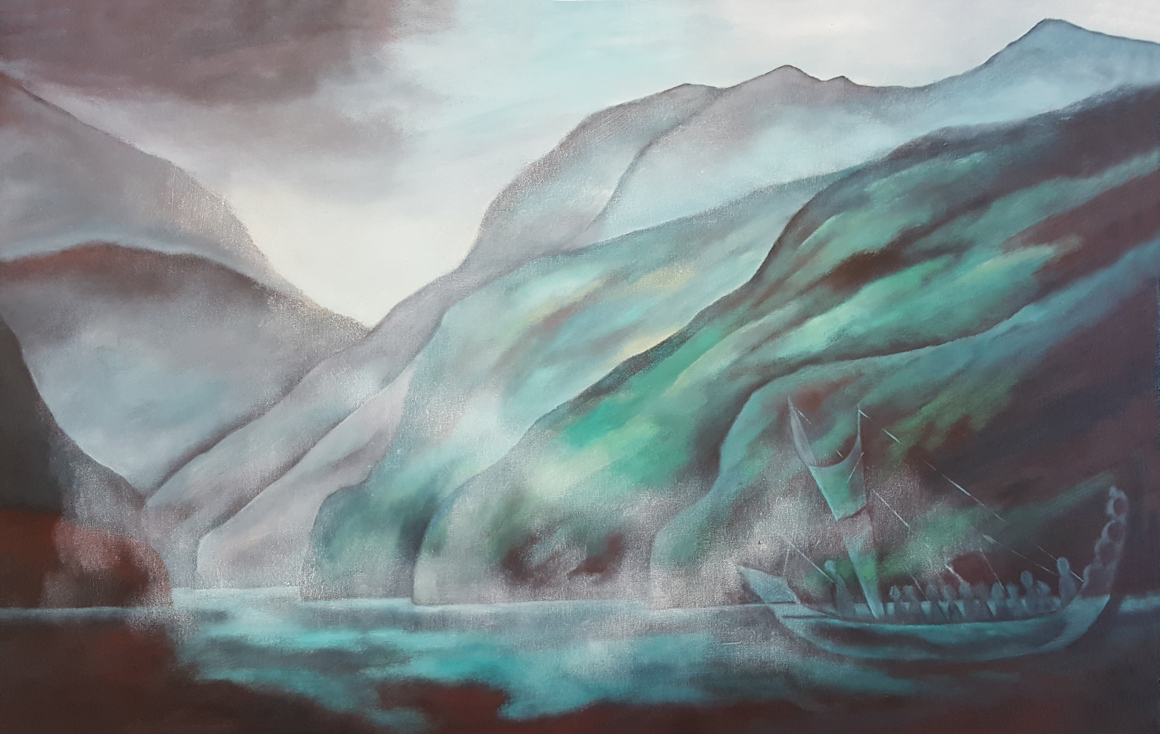 Lynette McKinstrie_Arrival - The Land of the Pounamu