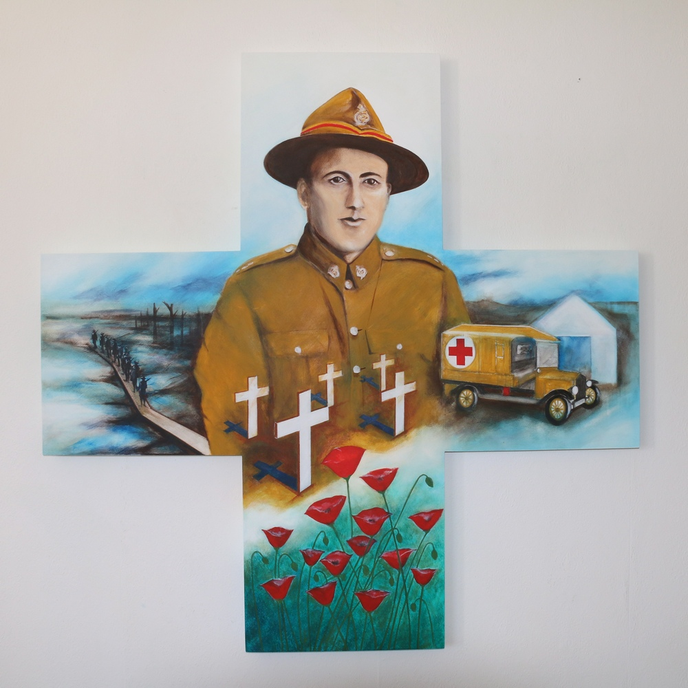 ART_Brian Marsom_Remembrance-WW1._$4000