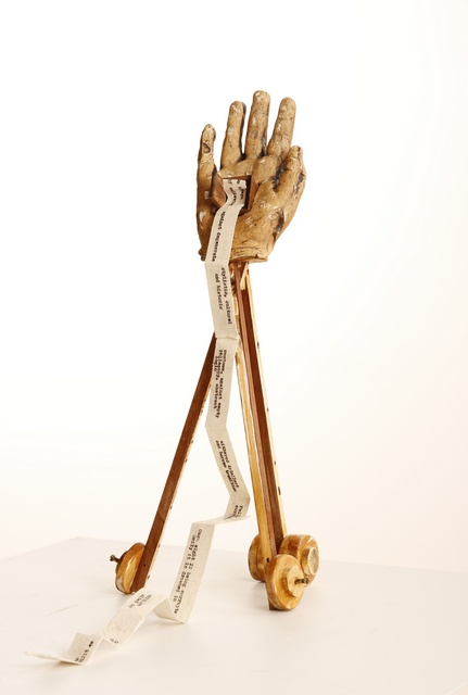 2nd MERIT SCULPTURE_$150 SUDAN HAIRDRESSING_Hamish Oakley-Brown_The Hand of Reason (that old war hor