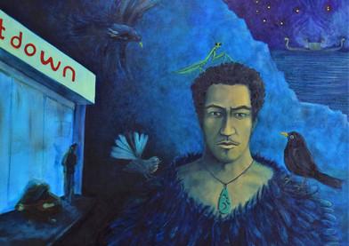 Louise Allen_Portrait of Chief Ruarangi