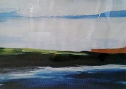 Joelle Bunt_headland with reflection 1 W