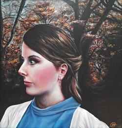 1st TRUSTS 13-15 YR ART_$450_Jessie Newman_Self Portrait