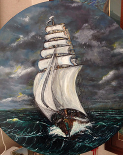 Anne Johnston_Sailing Away
