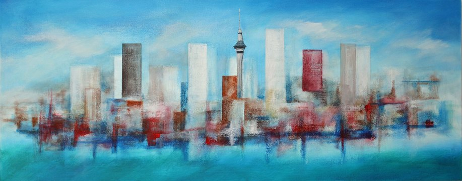ART_Brian Marsom_Unitary City Impression_$2500