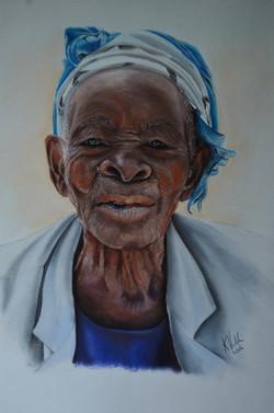 PORTRAIT OR FIGURATIVE MERIT_$300 Voucher TAKAPUNA ART SUPPLIES_Karen Rick Hansen_Nakulwibo -their g
