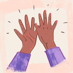 Klappa händerna