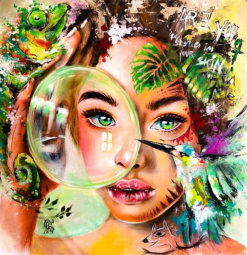 """Giclée Print """"Mother Nature"""""""
