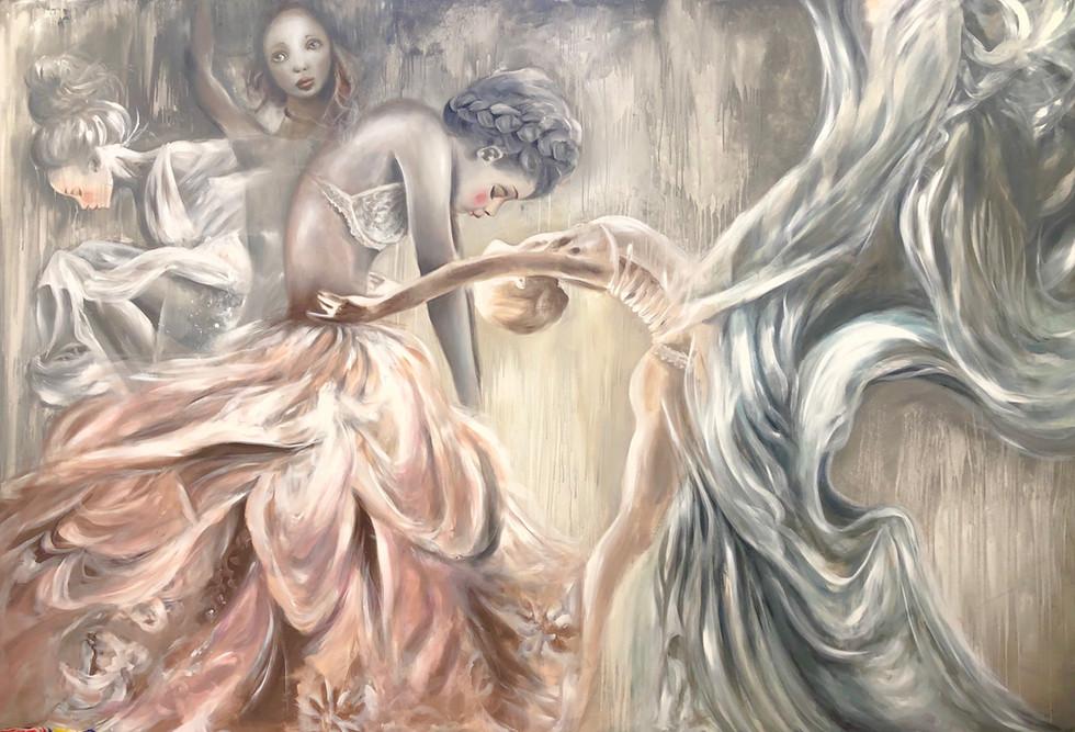 Acrylic on canvas 190x280cm