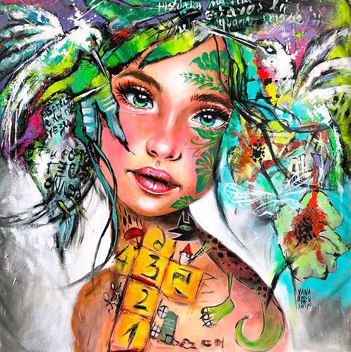 """Giclée Print """"Bird Child"""""""