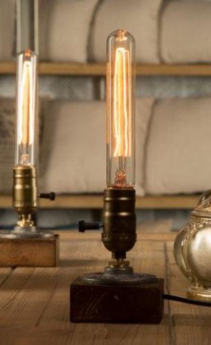 Vintage edison lampeholder