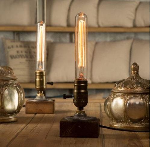 Bordlamper, bord lampe, lampe, minimalisktisk, retro, vintage