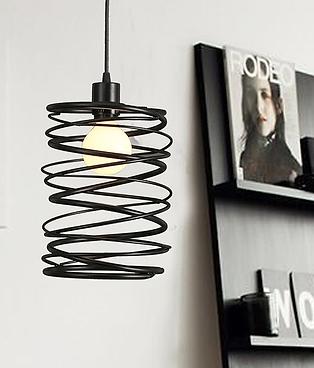 Nordisk jern lampe