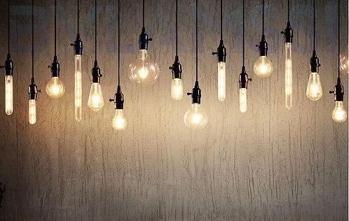 Loftslamper, lampe, vintage