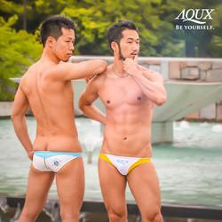 AQUX model: DAISUKE & KUMA