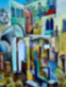 Vladimir Mingar, gallery, art, Иерусалим, картина, холст, акрил