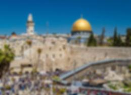 стена плача, купол скалы, храмовая гора, Иерусалим, Израиль