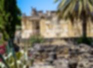 Капернаум, археологические раскопки, древняя синагога, нижняя галилея, Израиль