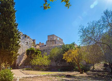 Крепость Йехиам, Верхняя Галилея, путешествие по Израилю