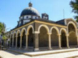 Церковь, Гора Блаженств, озеро кинерет, Галилейское море, Нагорная проповедь, путешествие по Израилю,